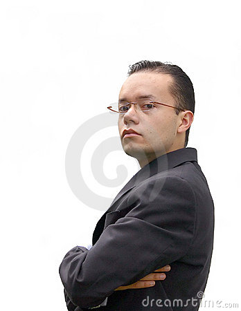 Business man with glasses - jc