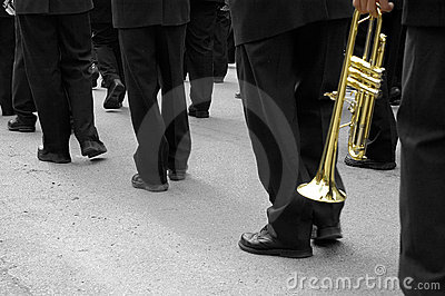 Marching Band Trumpeter