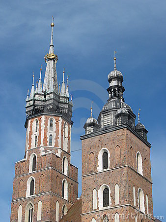 Church of St Mary, Cracow, Poland