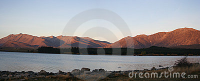 Panorama - Lake Tekapo, New Zealand