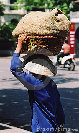 Woman worker in Hanoi