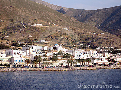 The Greek island of Paros