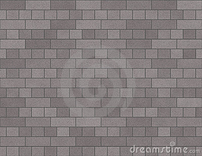 Brick Wall Seamless Background Small Bricks In Grey