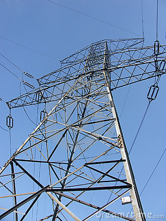 Power transmission pylon
