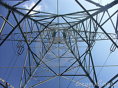 Pylon from below
