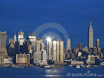 Light on Manhattan