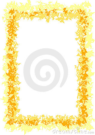 Yellow and Gold Border