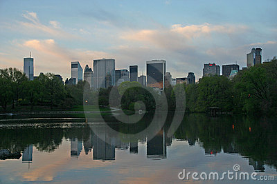NY buildings from Central Park