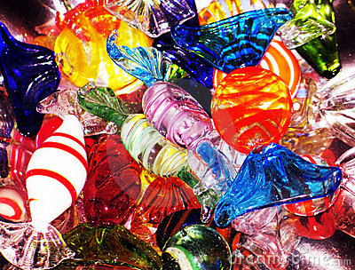 Crystal candies