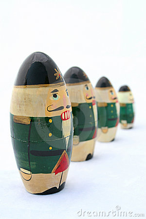 Nutcrackers at Attention 1