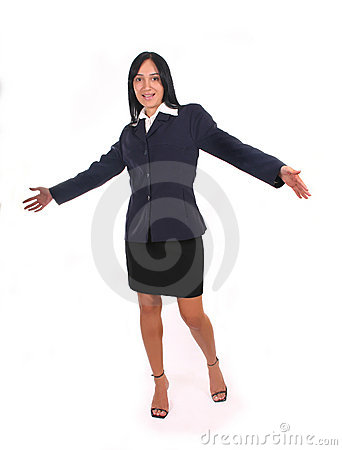 Happy Businesswoman II