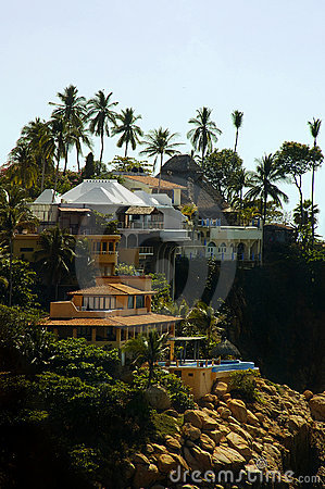 Acapulco Cliffside Houses