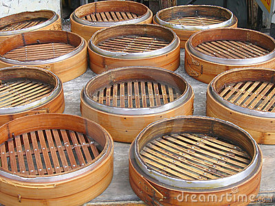 Chinese Bamboo Steamers