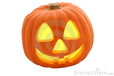 Jack-O-Lantern Isolated