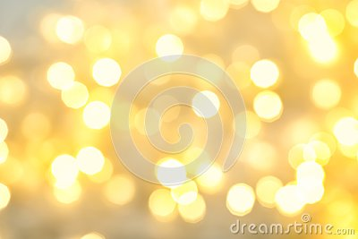 stock image of blurred view of christmas lights. festive background