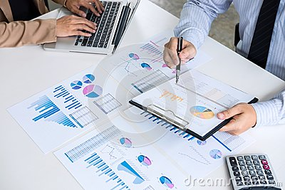 stock image of partner meeting of business people colleagues consultation and d