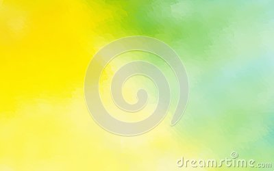 stock image of abstract yellow green watercolor background dotted graphic design