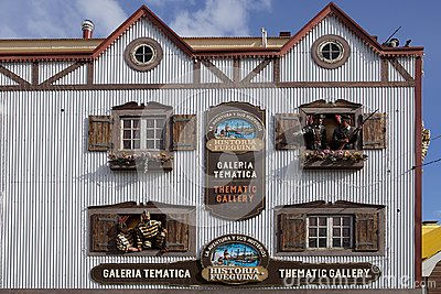 Thematic Gallery in Ushuaia, Argentina