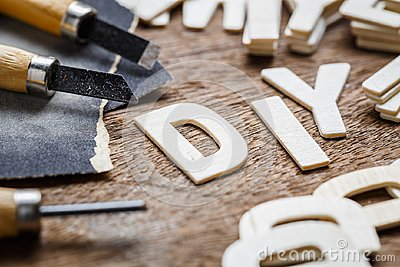 DIY Letters Woodwork