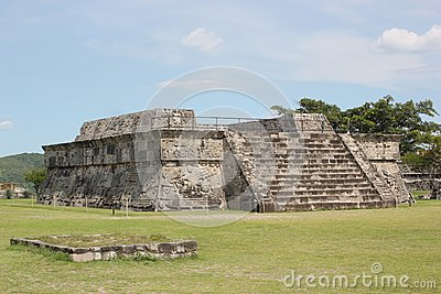 Xochicalco Temple of the Feathered Snake Quetzalcoatl