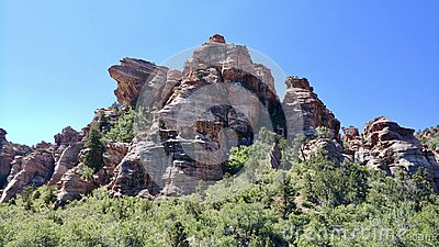 Lambs Knoll Outside of Zion National Park