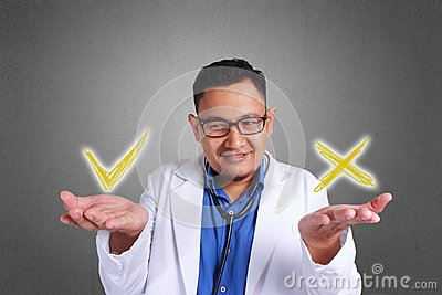 Confused Doctor Trying To Decide