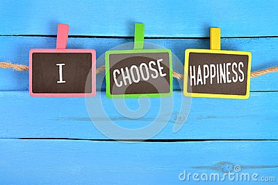 I choose happiness on board