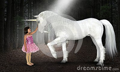 Girl, Peace, Hope, Love, Nature, Unicorn, Woods