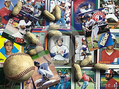 Vintage Montreal Expos collage