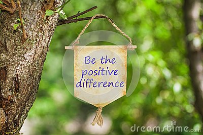 Be the positive difference on Paper Scroll