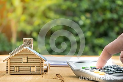 Business Signing a Contract Buy - sell house