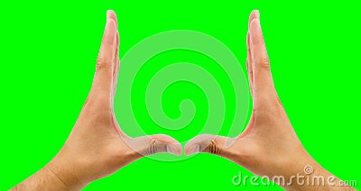 Parenthesis with hands