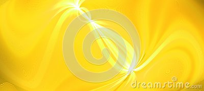 stock image of bright gold glow flux effect wave. dynamic motion energy. design template illustration. panoramic image. modern gradient backgroun