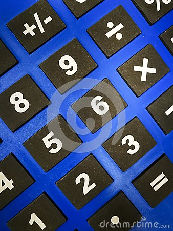 Numerical and arithmetical keypads