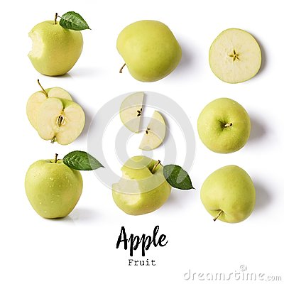stock image of seamless pattern with apples. apple fruits, creative layout isolated