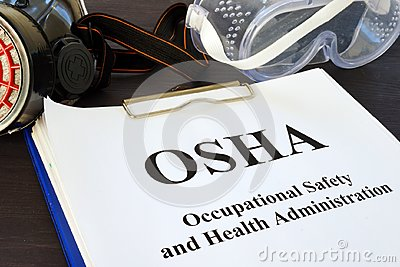 Documents with Occupational Safety and Health Administration OSHA.