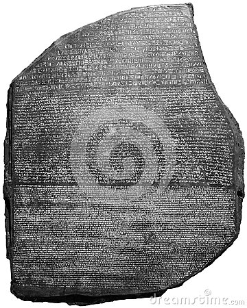 Rosetta Stone, Language, Archeology, Isolated