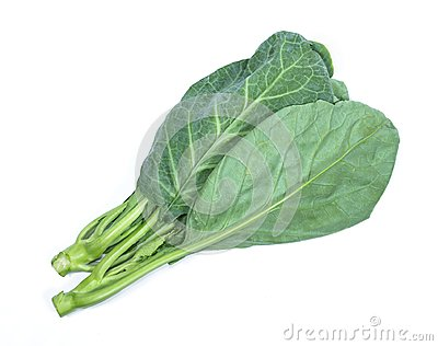 Leaves of collards on background,Chinese kale