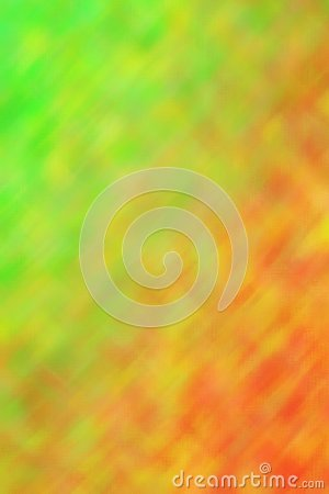 Orange and green brights through Tiny Glass vertical background illustration.