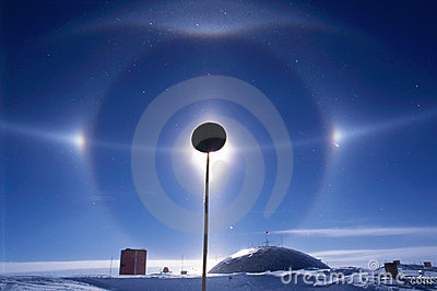 South Pole Halo