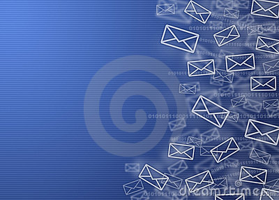 email background