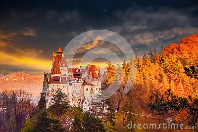 Dracula castle of Bran, Romania