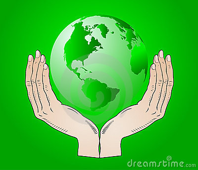 Earth in the your hands