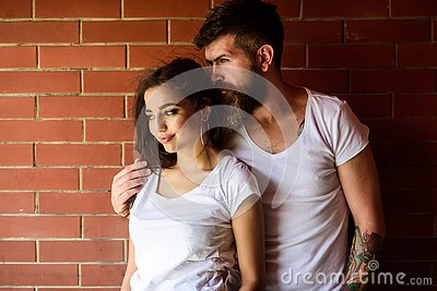 Couple enjoy intimacy cuddling without witnesses. Moments of intimacy. Couple find place to be alone. Couple in love