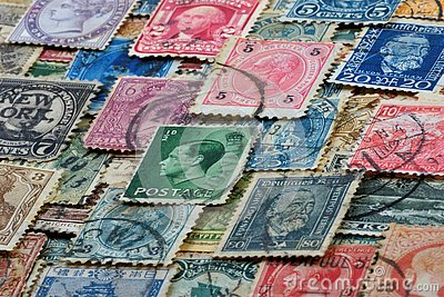 Philately - collecting stamps.