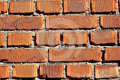 Close up on an old bricks wall