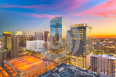 Phoenix, Arizona, USA Cityscape