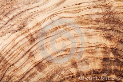 Texture or pattern of olive wood board. Natural background.