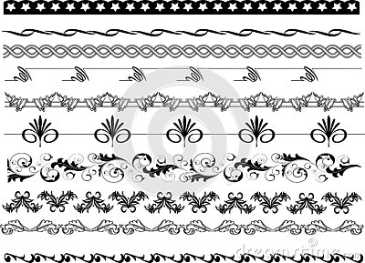 Frame corners patterns, Borders and floral designs