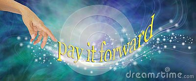 Pay it Forward with loving sparkles